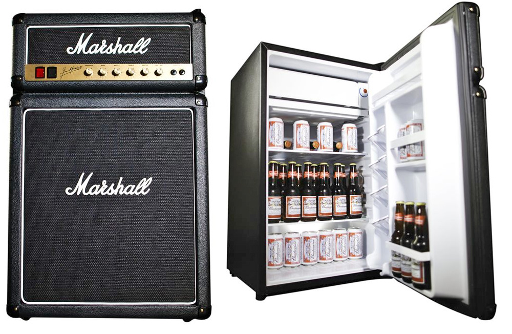 1The Marshall Fridge. 15 Top Mini Fridges for your Favorite Food and Beverages   Blogrope