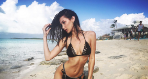 Hot Swimsuit Trends By Bella Hadid