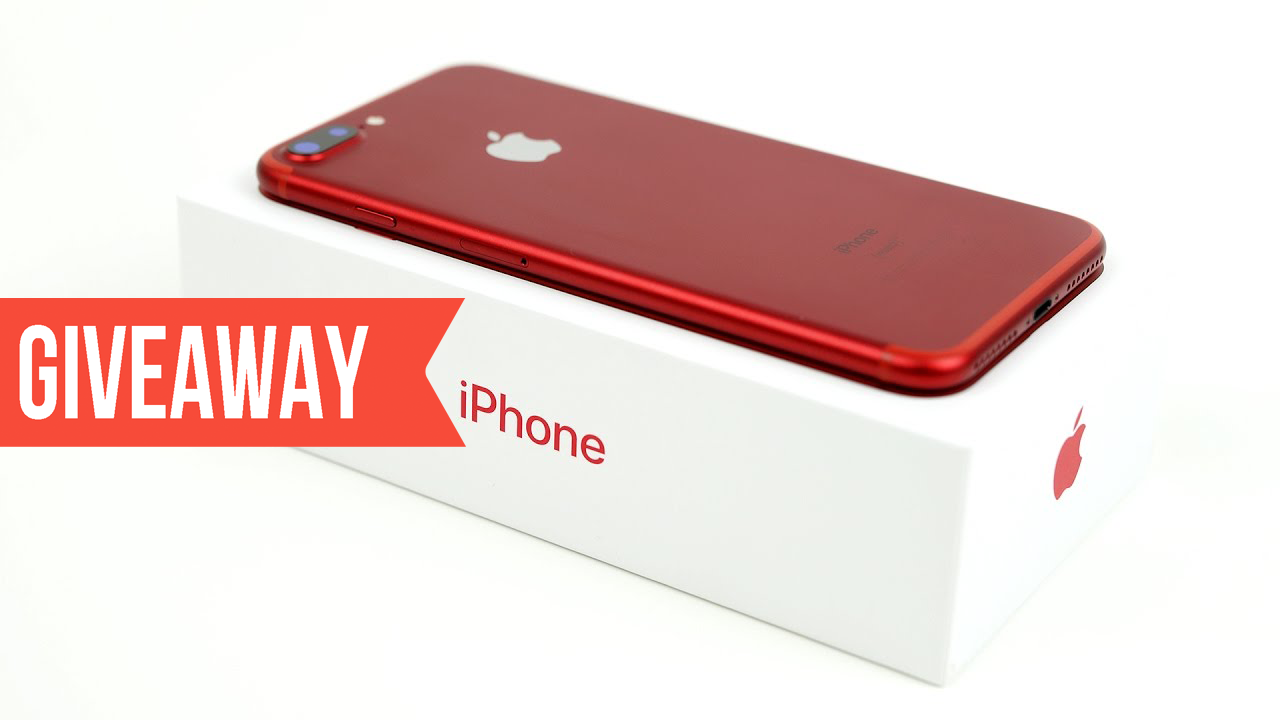 iPhone 7 Plus Red 128 GB International Giveaway 2017